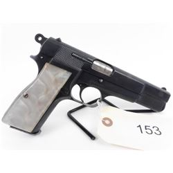 RESTRICTED. Aged Belgian Browning Hi-Power