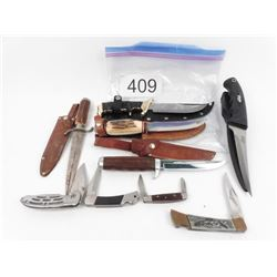 8 Assorted Knives