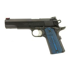 "COLT COMP GOV 9MM 5"" 9RD BL"