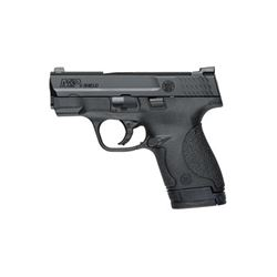 "S& W SHIELD 9MM 3.1"" BLK 7& 8RD NS"