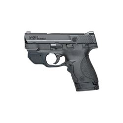 "S& W SHIELD 40SW 3.1"" BLK 6& 7RD CMT"