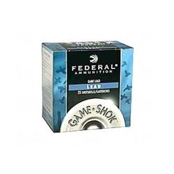 """FED GAME LOAD 16GA 2 3/4"""" #6 250 Rounds"""