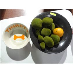 Fruit Tray Dog Food Dish