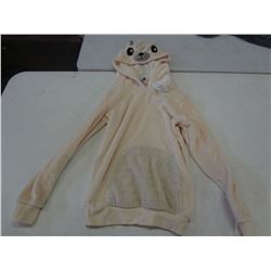 New Size XS White Bear Hoodie