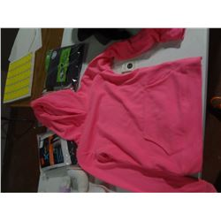 New girls size 10/12 Pink Hoodie