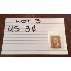 STAMP, US, 3 CENTS