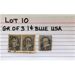 STAMPS, US, 1 CENT