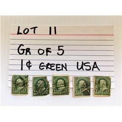 STAMPS, USA, 1 CENT