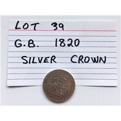 COIN, GB, 1820, CROWN