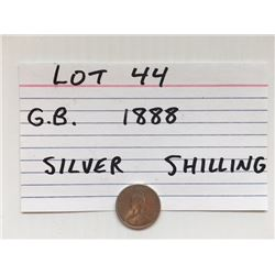 COIN, GB,1888, SHILLING