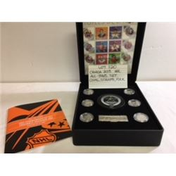 COINS/STAMPS, CANADA NHL SET