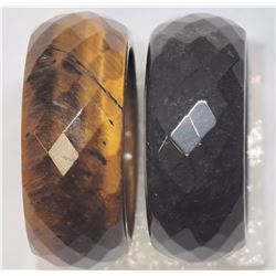 $160 2 lots onyx/Tiger eye