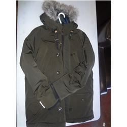 Green Mens Size Large Winter Coat