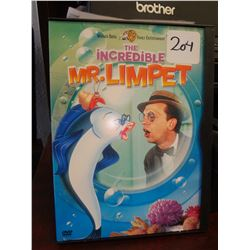 Used the Incredible Mr. Limpet