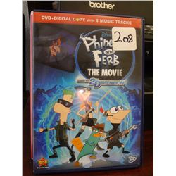 Used Phineas & Ferb The Movie