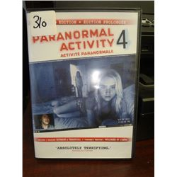 Used Paranormal Activity 4 Extended Edition