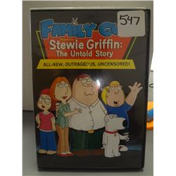 Used Family Guy Stewie Griffin The Untold Story