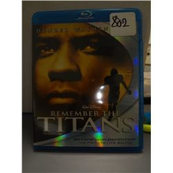Used Remember the Titans Blu Ray