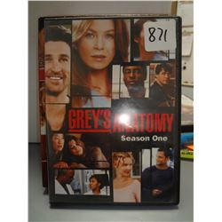 Used Grey's Anatomy Season 1