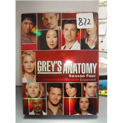 Used Grey's Anatomy Season 4