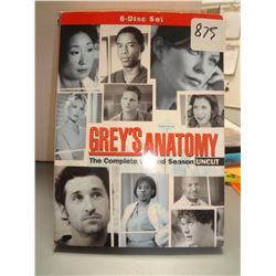 Used Grey's Anatomy Season 2