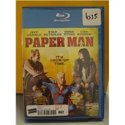 Used Paper Man