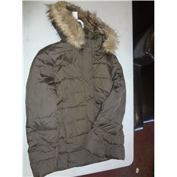 Ladies Green Winter Jacket Size XL