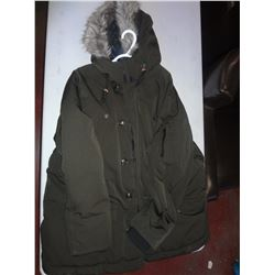 Mens Green Winter Coat Size 2XL