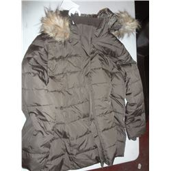 Ladies Green Winter Jacket Size 2XL