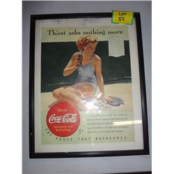 Coca Cola Picture 'Thirst Asks Nothing More'