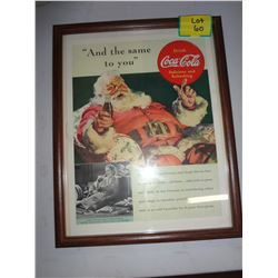 Coca Cola Picture 'And The Same To You'