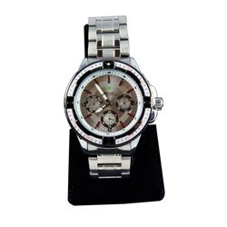 Men's Stainless Steel Sports Wristwatch