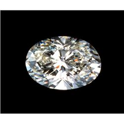 Nice, clean 1.25 carat Oval Brilliant Cut BIANCO® Diamond