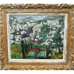 20thc Impressionist Signed Oil Painting