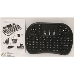NEW MINI WIRELESS KEYBOARD WITH BUILT IN MOUSE