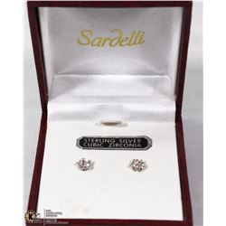 SARDELLI 14K WHITE GOLD STERLING
