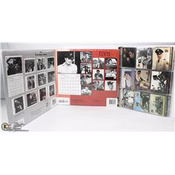 BINDER OF ELVIS COLLECTOR CARDS SOLD