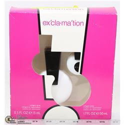 EXCLAMATION .5 OUNCE COLOGNE SPRAY