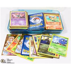 CONTAINER OF ASSORTED POKÉMON CARDS