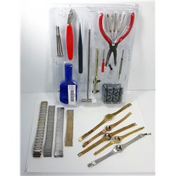 19 - JEWELRY & WATCH REPAIR KIT WATCH BANDS