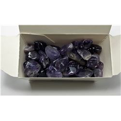 9 - LOT OF 83.6 GRAMS OF POLISHED AMETHYST