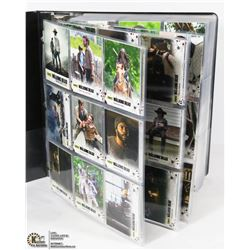5 COMPLETE SETS OF THE WALKING DEAD TRADING CARDS
