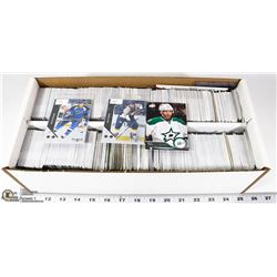 BOX OF APPROX 1500 ASSORTED HOCKEY CARDS