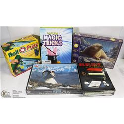 SEALED PUZZLES 750 PC & 1000 PC