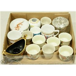 LOT OF OCCUPIED JAPAN ENGLAND CUPS.