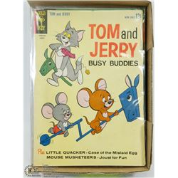 25 VINTAGE GOLD KEY TOM & JERRY COLLECTORS COMICS.