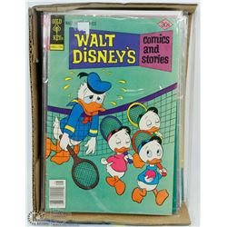 20 VINTAGE DISNEY COLLECTORS COMICS.
