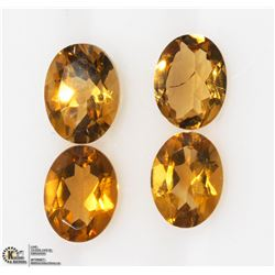 27) GENUINE CITRINE GEMSTONES