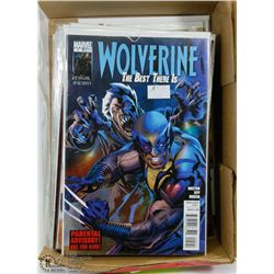 28 WOLVERINE COLLECTORS COMICS.
