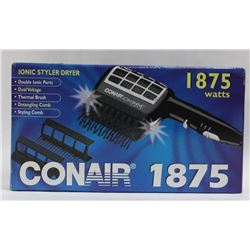 CONAIR 1875 WATT IONIC HAIR STYLER DRYER